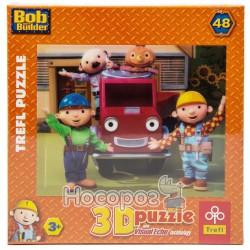 """35722 Пазл """"48 3D"""" - Боб Строитель и друзья / HIT Ent."""