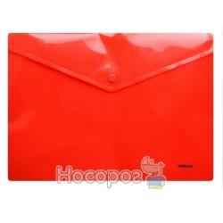 Папка з кнопкою NORMA 5017 червона