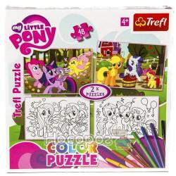 """Пазл """"Веселые пони"""" / Hasbro, My Little Pony"""