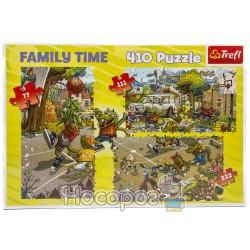12054 Сімейні пазли - 410 ел. Баскетбол
