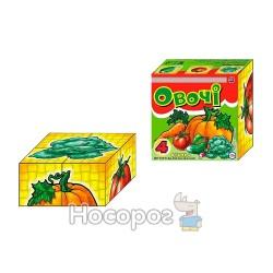 """Игрушка кубики ТехноК """"Овощи"""""""