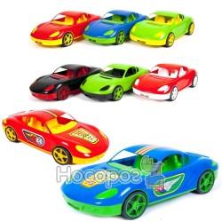 Машина спортивная Kinder Way с наклейками 07-702-1N