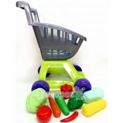 Тележка Kinder Way KW-36-003 с овощами