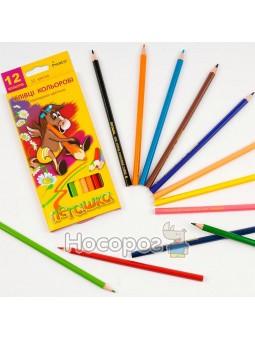 Карандаши цветные Marco 1010-12 Пегашка