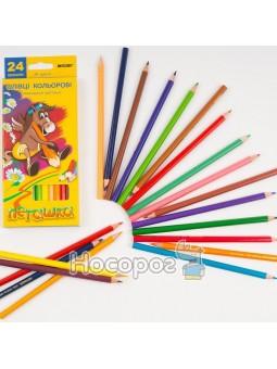 Карандаши цветные Marco 24 цвета 1010-24 Пегашка