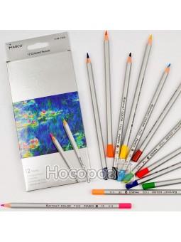 Карандаши цветные Marco 12 цветов 7100-12CB