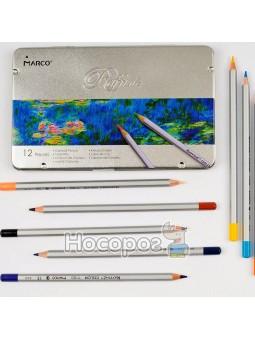 Олівці кольорові Marco 12 кольорів 7100-12TN