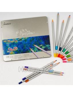 Карандаши цветные Marco 24 цвета 7100-24TN