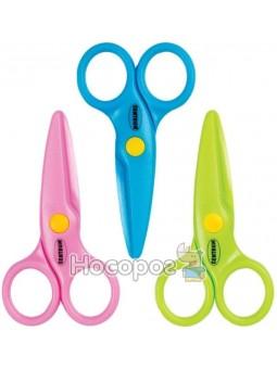 Ножиці дитячі Centrum 10,5см 87509 пласт., безпечні з лінійкою, колір асорті