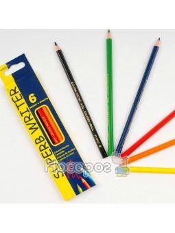 Карандаши цветные 6 цветов Marco 4100-6CB
