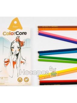 Карандаши цветные Marco 3130-12CB ColorCore