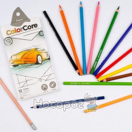Олівці кольорові Marco 3100-12CB ColorCore
