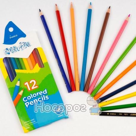 Олівці кольорові Marco 1100-12CB Colorite