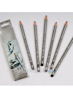 Олівці графітні Marco 7000-6CB