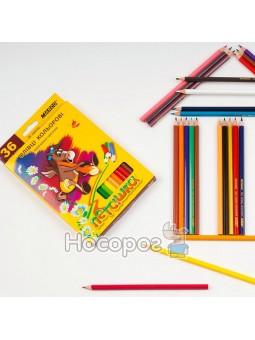 Олівці кольорові Marco 36 кольорів 1010-36 Пегашка
