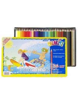 Олівці кольорові Marco 36 кольорів 1100-36ТN