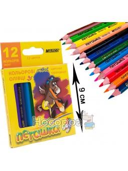 Олівці кольорові Marco 1010H-12CB Пегашка міні