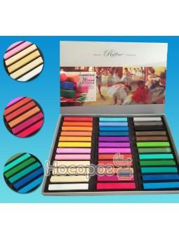 Пастель сухая (мел) цветная Marco 7300-36CB (24 цвета)