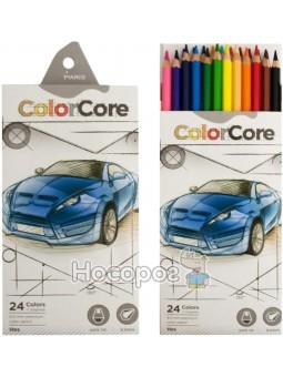 Карандаши цветные Marco 3100-24CB ColorCore
