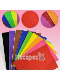 Набор самоклеющейся бумаги Centrum EVA foam Plush А4 10 цветов 88082 (толщ.2мм)