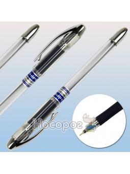 Ручка масляная Hiper Max Writer Silver HO-338 0,7 мм черная