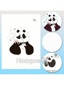 "Блокнот TM Profiplan ""Funny series"" panda and cake, B6"