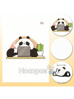 "Блокнот TM Profiplan ""Funny series"" panda at work, B6"