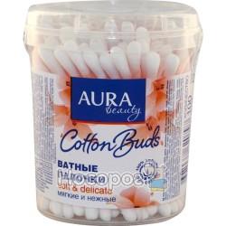 Палочки ватные AURA Beauty для детей 100 шт