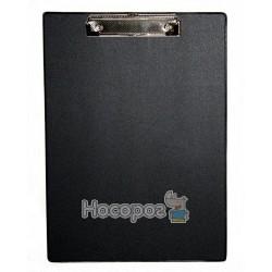 Планшет з прижимом А4 4-257 4Office чорний (03110409)