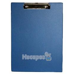 Планшет з прижимом А4 4-257 4Office синій (03110406)