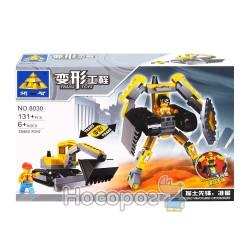 """Конструктор 2 в 1 """"Brick"""" """"Робот-трансформер"""" 8030"""