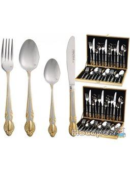 Набор столовых приборов Miller House 2465 Дипломат 24 предмета на 6 персон (psg_MH-2465)