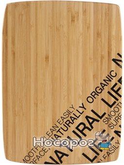 Разделочная доска Bergner бамбуковая 30 х 22 х 1.5 см (BG-4920)