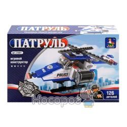"""Конструктор """"Brick"""" """"Серия полицейских машины вертолет"""" 23401"""