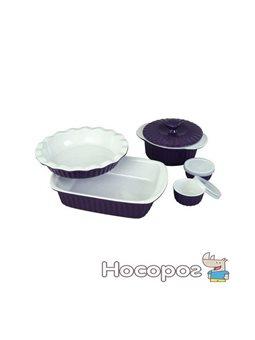Набор керамической посуды Kamille для запекания 8 предметов (KM-6106)
