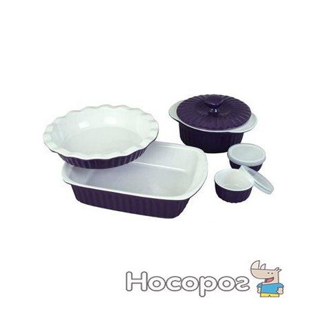 Фото Набор керамической посуды Kamille для запекания 8 предметов (KM-6106)