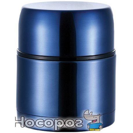 Фото Термос пищевой Bergner Disc 1 л Синий (BG-6025-BL)