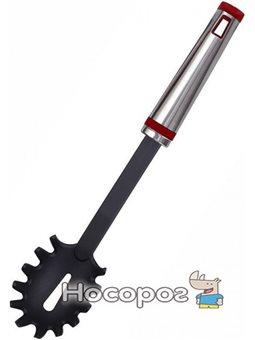 Ложка для спагетти Bergner SIGMA 32 см нейлоновая с металлической ручкой (BG-2754_psg)