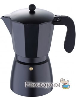 Гейзерна кавоварка San Ignacio Florencia Black на 12 чашок (SG-3518)