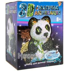 """Творческий набор 3Д Магическая аппликация """"Панда"""" (950498)"""
