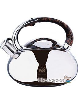 Чайник Wellberg со свистком 3 л (WB-5860)