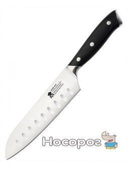 Нож сантоку Bergner Master Pro Stuttgart 17.5 см нержавеющая сталь (BGMP-4301_psg)