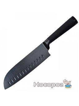 Нож сантоку Bergner Blackjack 170 мм (BG-8776)