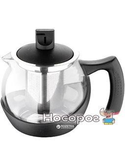 Чайник заварочный Bergner Relax 800 мл Черный (BG-7327-BK)