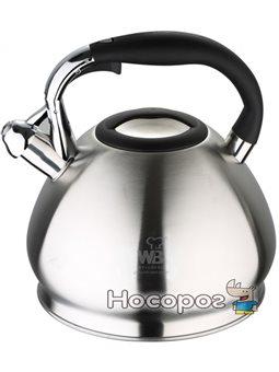 Чайник Wellberg Ergoria со свистком 4.3 л (WB-6238)