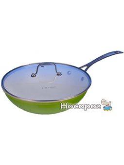Сковорода WOK Hilton FP 2845 с крышкой 28 см