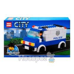 """Конструктор """"CITY"""" """"Полицейская машина"""" 81004"""