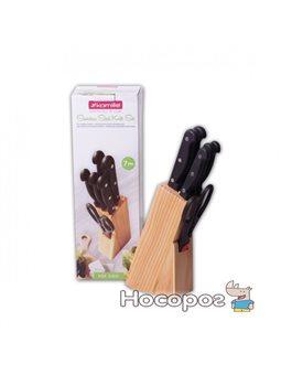 Набор ножей Kamille 5122 7 предметов из нержавеющей стали с бакелитовыми ручками