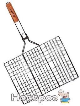 Решетка для барбекю Kamille Скаут 40х30х2 см (psg_KM-0707)