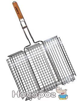 Решетка для барбекю Kamille Скаут глубокая 40х30х7 см (psg_KM-0706)
